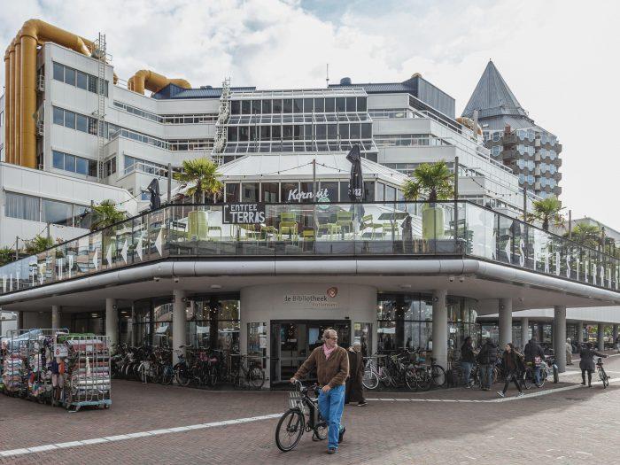Starbucks en mini-Donner komen naar Centrale Bibliotheek Rotterdam