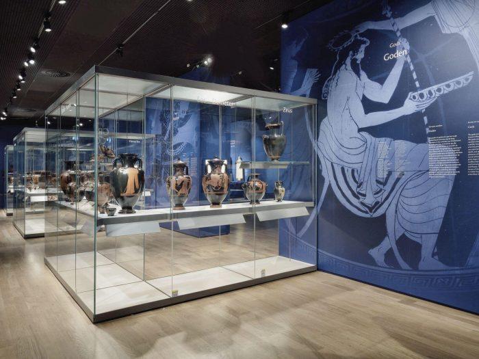 Kunststukje in het Museum voor Oudheden Leiden