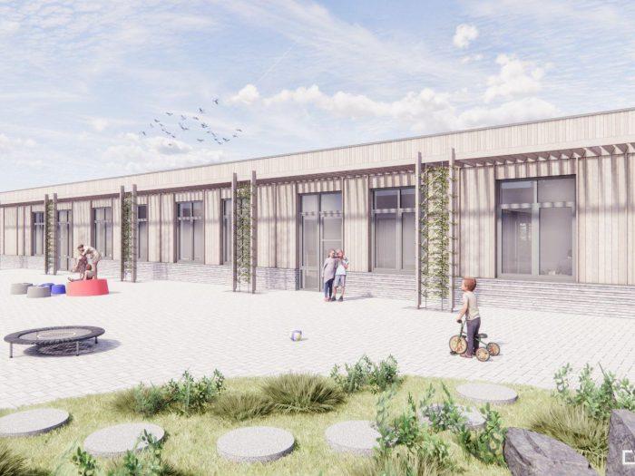 Uitbreiding schoolgebouw Gummarus in Steenbergen visitekaartje duurzaam bouwen