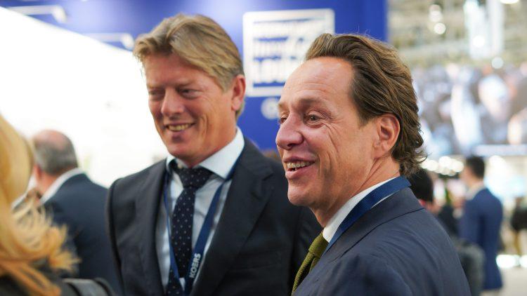 Roland van der Hoek (commercieel manager) en Harold Koers (CEO KOERS)